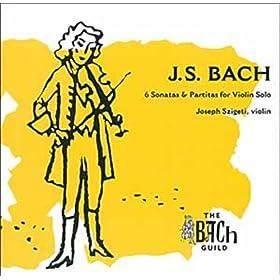 Partita pour violon seul n� 3 en mi majeur, BWV 1006: Menuet I & II