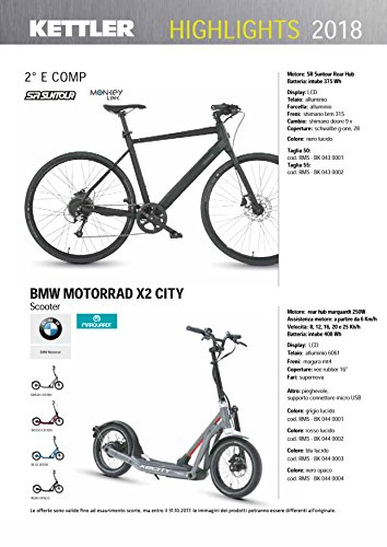 Cicli Ferrareis MONOPATTINO Elettrico BMW Motorrad X2 City