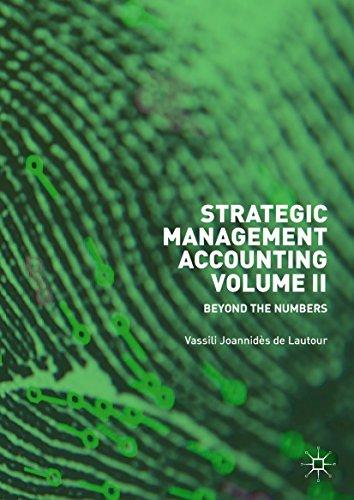 Descargar gratis Strategic Management Accounting, Volume II: Beyond the Numbers PDF