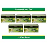 Lemor Lemon Green Tea (5 pack of 25 Tea Bag)
