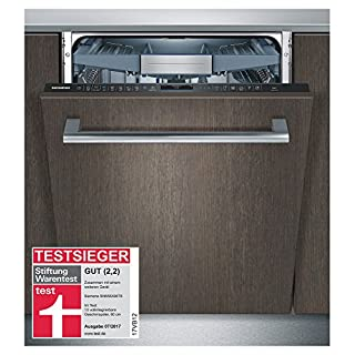 Siemens SN658X06TE iQ500 Wi-Fi Geschirrspüler vollintegriert / A+++ / AquaStop / brilliantShine System / Zeolith-Trocknung / Home Connect / varioSpeed Plus, Amazon Dash Replenishment fähig