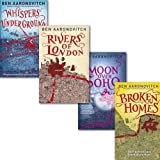 Ben Aaronovitch Rivers of London Collection 4 Books Set, (Moon over Soho, Whi...