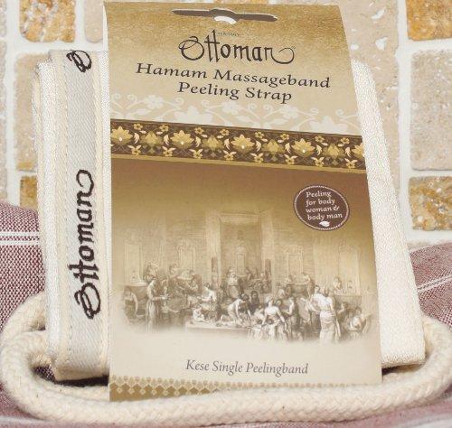 Ottoman - Bande de gommage spécial hammam - pour le dos