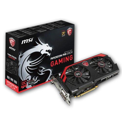 MSI R9 290X Gaming Grafikkarte (PCI-e, 8GB GDDR5, DVI, HDMI, DisplayPort)