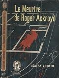 Le meurtre de Roger Ackroyd - Librairie des Champs-Elysées