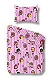 Kinder Biber Bettwäsche Rosario - Baby Winterbettwäsche 100x135
