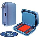 Navitech Étui bleu clair pour le HP Sprocket Photo