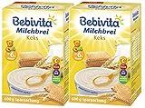 Bebivita Milchbrei Keks, 2er Pack (2 x 600g)