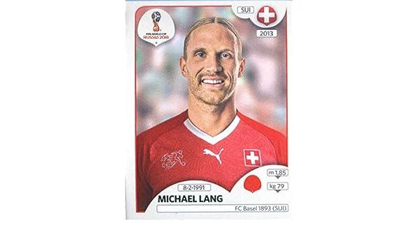 Michael Lang Sticker 377 Panini WM 2018 World Cup Russia Schweiz