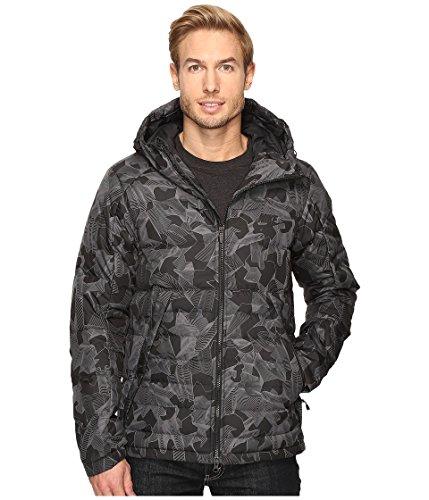 Nike NSW Down Filled Hooded Jacket Men's Schwarz/Grau
