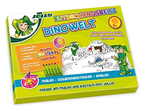 JOLLY Entdeckungsreise Dinowelt inkl. 6 Stk Booster
