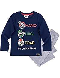 Nintendo Super Mario Bros - Pijama Dos Piezas - para niño