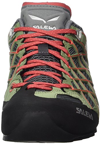 Salewa Damen Ws Wildfire S Gore-Tex Trekking-& Wanderhalbschuhe Mehrfarbig (Magnet/Hot Coral)