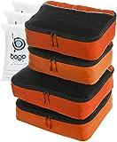 Emballage Cubes valeur définie pour Voyage - 4 Organisateurs avec sac Documents Protector