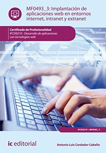Implantación de aplicaciones web en entornos internet, intranet y extranet. IFCD0210 por Antonio Luís Cardador Cabello