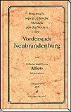Historisch-topographische Skizzen aus der Vorzeit der Vorderstadt Neubrandenburg - Wilhelm Ahlers