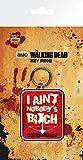 GB Eye Gerahmter Kunstdruck,The Walking Dead, Armbrust Schlüsselanhänger, Mehrfarbig