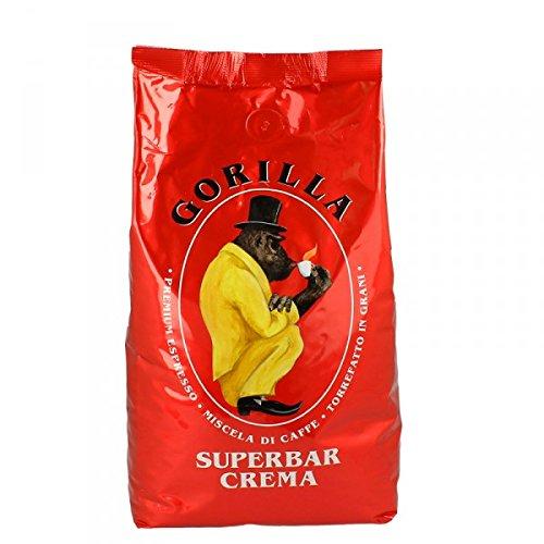 Preisvergleich Produktbild Joerges Espresso Gorilla Super Bar Crema,  1er Pack (1 x 1 kg)