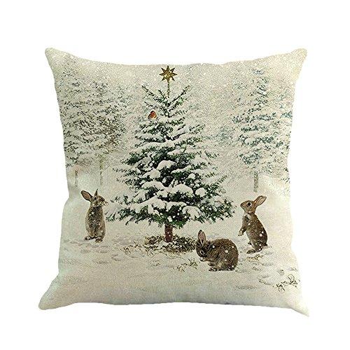 HUYURI Wohnkultur Weihnachten schneemann Druck Färben Sofa Home -
