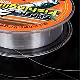 Generic 6. 0 : CAMTOA 100M 0. 8-6. 0 Super Strong Transparent Monofilament Nylon Fishing Line Wire