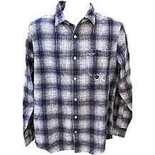 Hollister - Camisa Casual - para Hombre Azul Blanco Medium