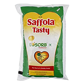 Saffola Tasty Oil - Losorb Technology, 1L Pouch
