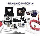 rokoo 1Set Titan Extruder + Stepper Motor + Volcano Hotend Ersatz für 1,753D Drucker Teil