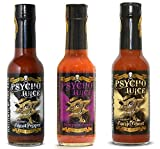 Psycho Juice Set Regalo - collezione Ghost Pepper - 3 salse piccanti estreme