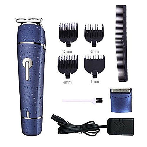 Surker Electric Hair Clipper trimmer for men and Electric Beard Razor wet dry shavers waterproof for men Multifunctional 2 in 1 Grooming Kit haircut machine