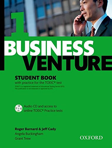 Download Business Venture 1 Elementary: Student's Book Pack