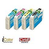 iColor Tintenpatronen: ColorPack für EPSON (ersetzt T1806 / 18XL), BK/C/M/Y (Multipacks Kompatible Druckerpatronen für Tintenstrahldrucker, Epson)