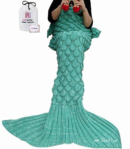 Coperta coda di sirena coda sirena coperta sirena mermaid coda regalo amica regali originali ideale per regalo natale per comodo sul divano in casa
