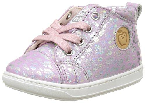Shoopom Bouba Pad Lace, Baby Mädchen Babyschuhe - Lauflernschuhe Rosa (Pink)