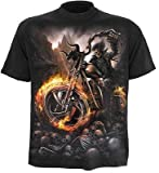 Produkt-Bild: Spiral Wheels Of Fire T-Shirt schwarz