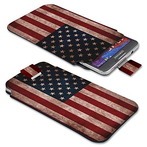 Apple iPhone 5s / 5C / 5 / 4s / 4 Handyhülle mit Designmuster Eulen auf Ast(2) USA
