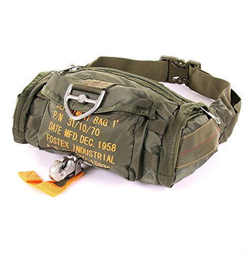 Foxter Garments – Portaequipajes deportivo militar