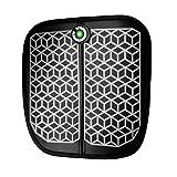 Haofy EMS - Massaggiatore elettrico per piedi, ricaricabile tramite USB, massaggiatore portatile, stimolatore muscolare con 1-15 livelli di intensità