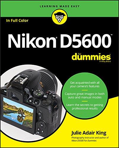 Nikon D5600 For Dummies (For Dummies (Computer/Tech)) (English Edition)