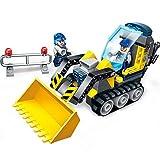 GUIGSI Neue Kinder Kinder Bau Fahrzeug Streitwagen Montage Baustein Spielzeug