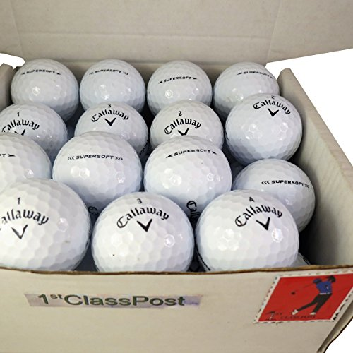 Superb Quality Pearl/A (nearly new) Golf Lake Balls - 24 Callaway Supersoft