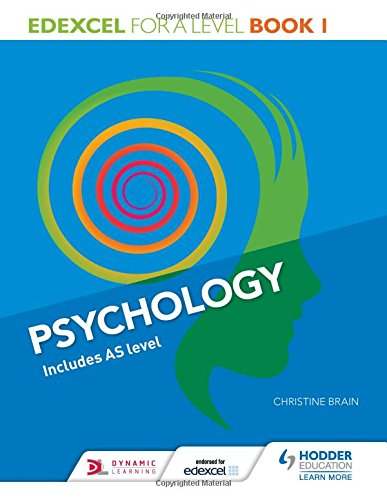 Edexcel Psychology for A Level Book 1