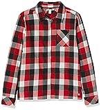 ESPRIT KIDS Mädchen RM1201307 Bluse, Rot (Chockcherry 362), Herstellergröße: 128+
