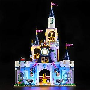 LIGHTAILING Set di Luci per (Disney Princess Il Castello dei Sogni di Cenerentola) Modello da Costruire - Kit Luce LED… 0781621988426 LEGO