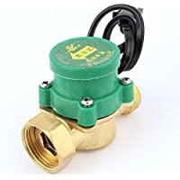 DealMux 120W 1/2BSP 3/4BSP M/F Thread Water Flow Sensor Switch, 0.6 mPa 5 L/minutes