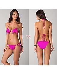 Européens et américains poitrine femme sexy bikini maillots de bain obtenir super beauté