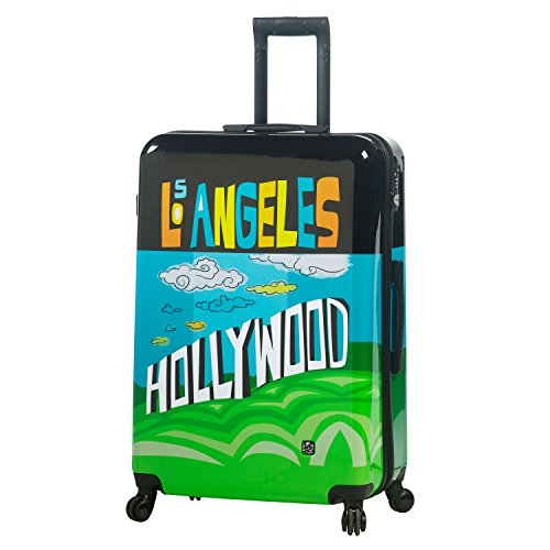 Mia Toro Toro ITALY Lebo-Destination USA Hardside 28 Inch Spinner Luggage Valigia, 84 cm, Multicolore (LDU)