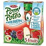 Pom'potes Ssa 5 Fruits Rouges - ( Prix Par Unité ) - Envoi Rapide Et Soignée