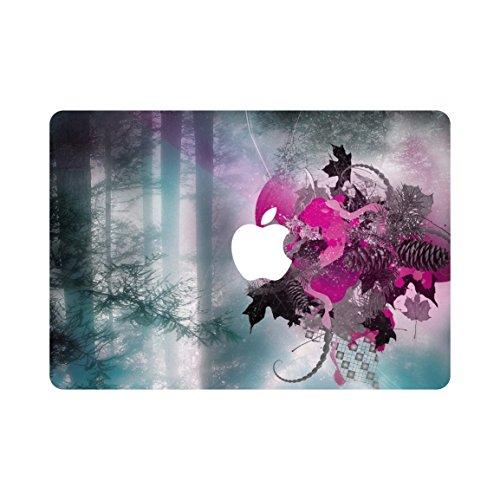 kikhorse Kreative Schöne Landschaft Sammlung Ultra Slim Hard Case für MacBook Air 11Zoll A1370/A1465 Wald
