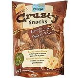 Pural Bio Crusty Snacks Croustillants au fromage et au sésame sans huile de palme 110 g