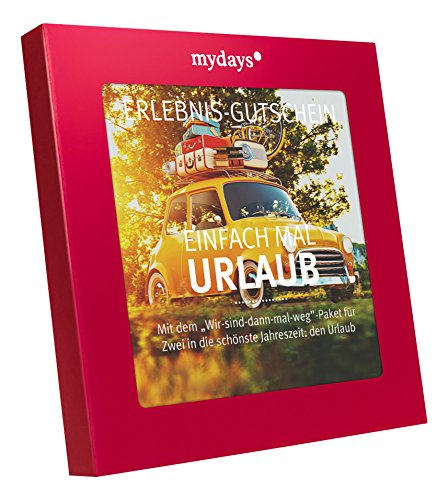 mydays Magic Box: Einfach mal Urlaub - Hotelgutschein für 4 Übernachtungen für 2 Personen